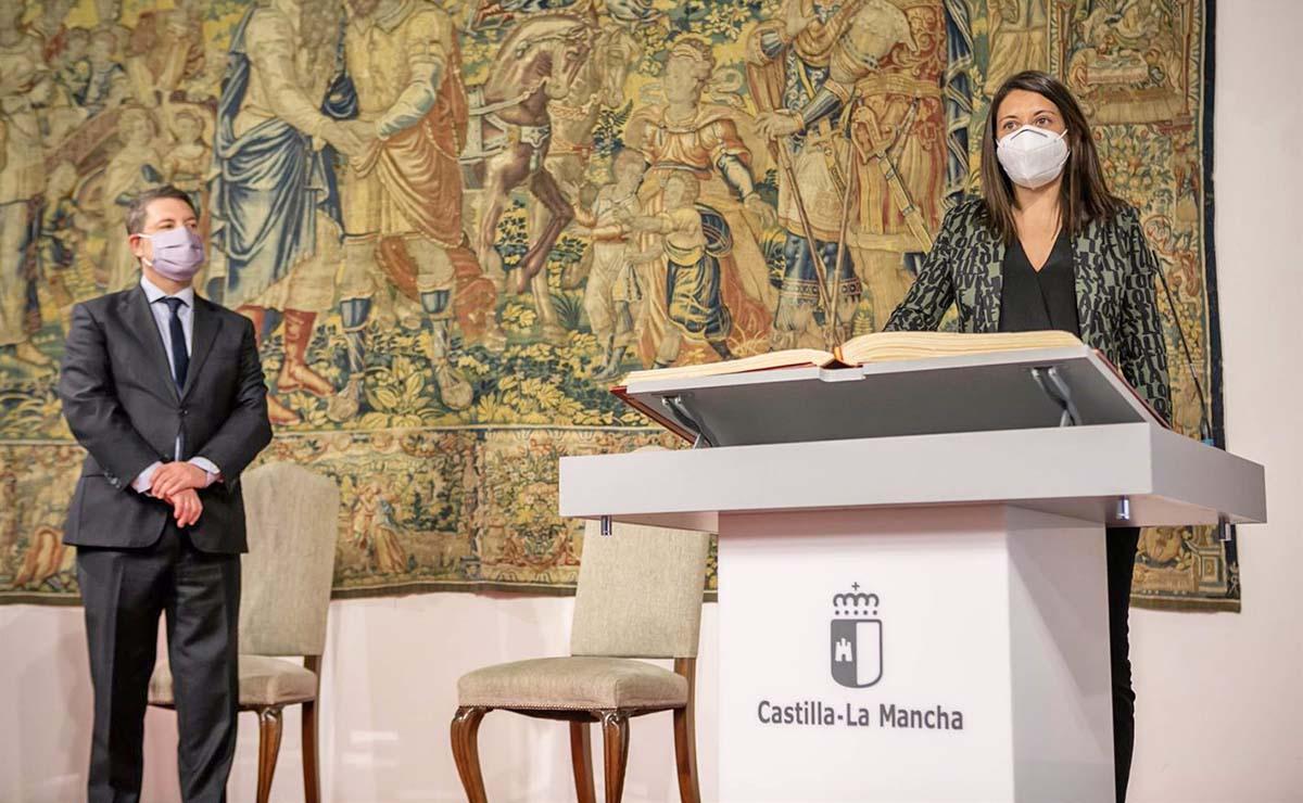 Toma de posesión Barbara García Bienestar Social Castilla-La Mancha Dependencia