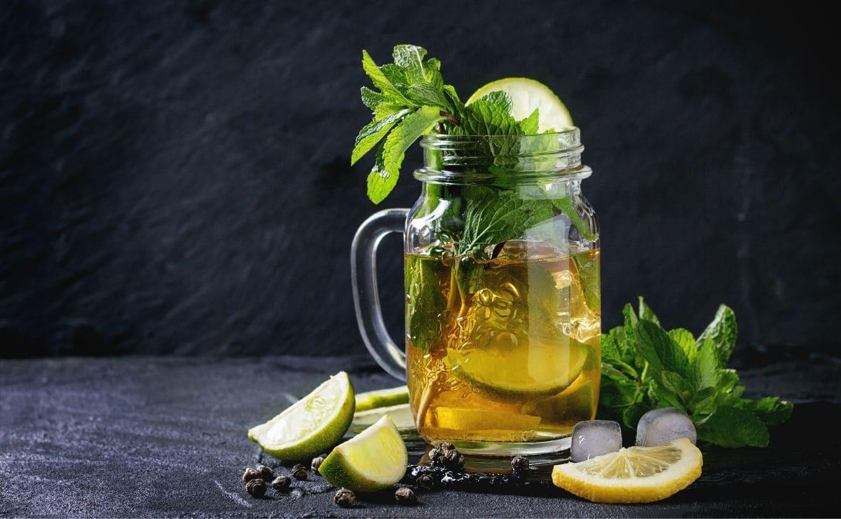 Vaso té verde