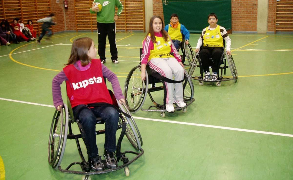 educación física inclusiva fundacion sanitas
