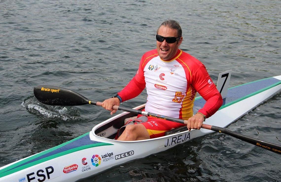 Javier Reja, clasificado para los Juegos Paralímpicos de Tokio