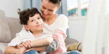 madre hijo autismo TEA