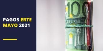 pagos ERTE mayo 2021