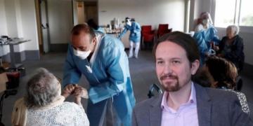 personas mayores residencia Pablo Iglesias Covid-19 pandemia