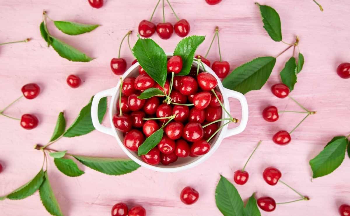 Cereza antioxidante