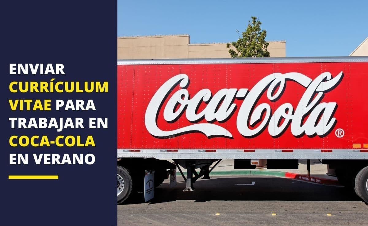Coca-Cola currículum vitae verano empleo