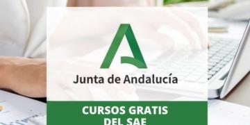 Cursos gratis del SAE de la Junta de Andalucía