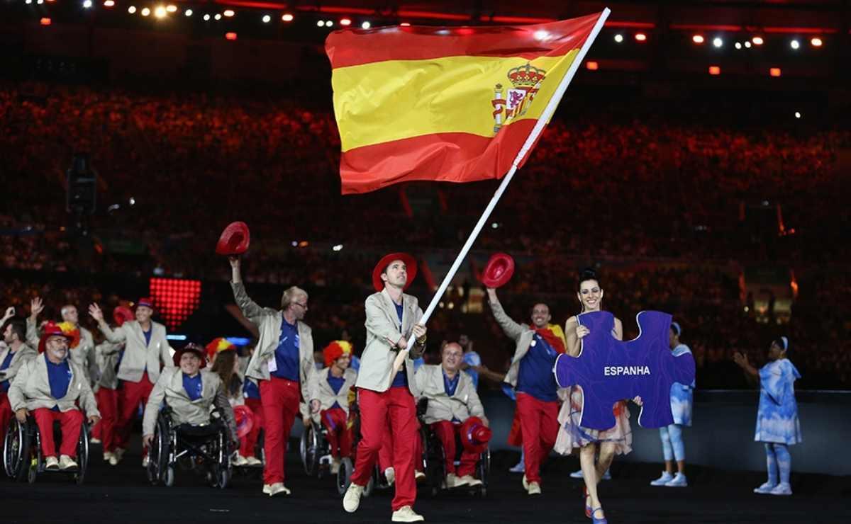 Delegación española en los Juegos Paralímpicos de Río 2016