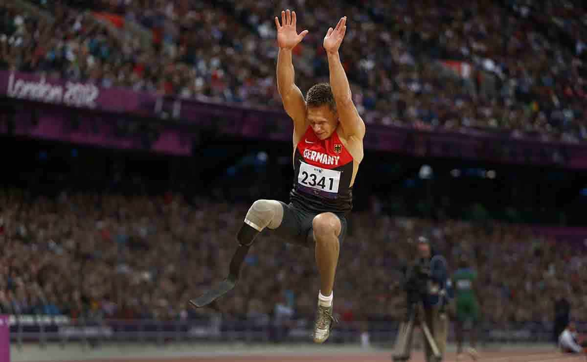 El atleta Markus Rehm durante los Juegos Paralímpicos de Río 2016   AP