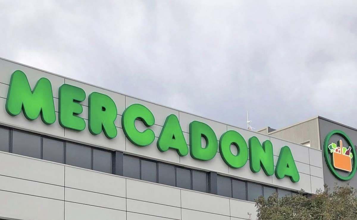 Mercadona logo fachada