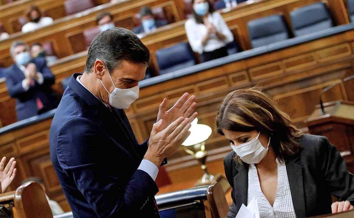 Pedro Sánchez Congreso de los diputados incapacitacion judicial