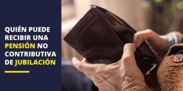 pensión no contributiva jubilación