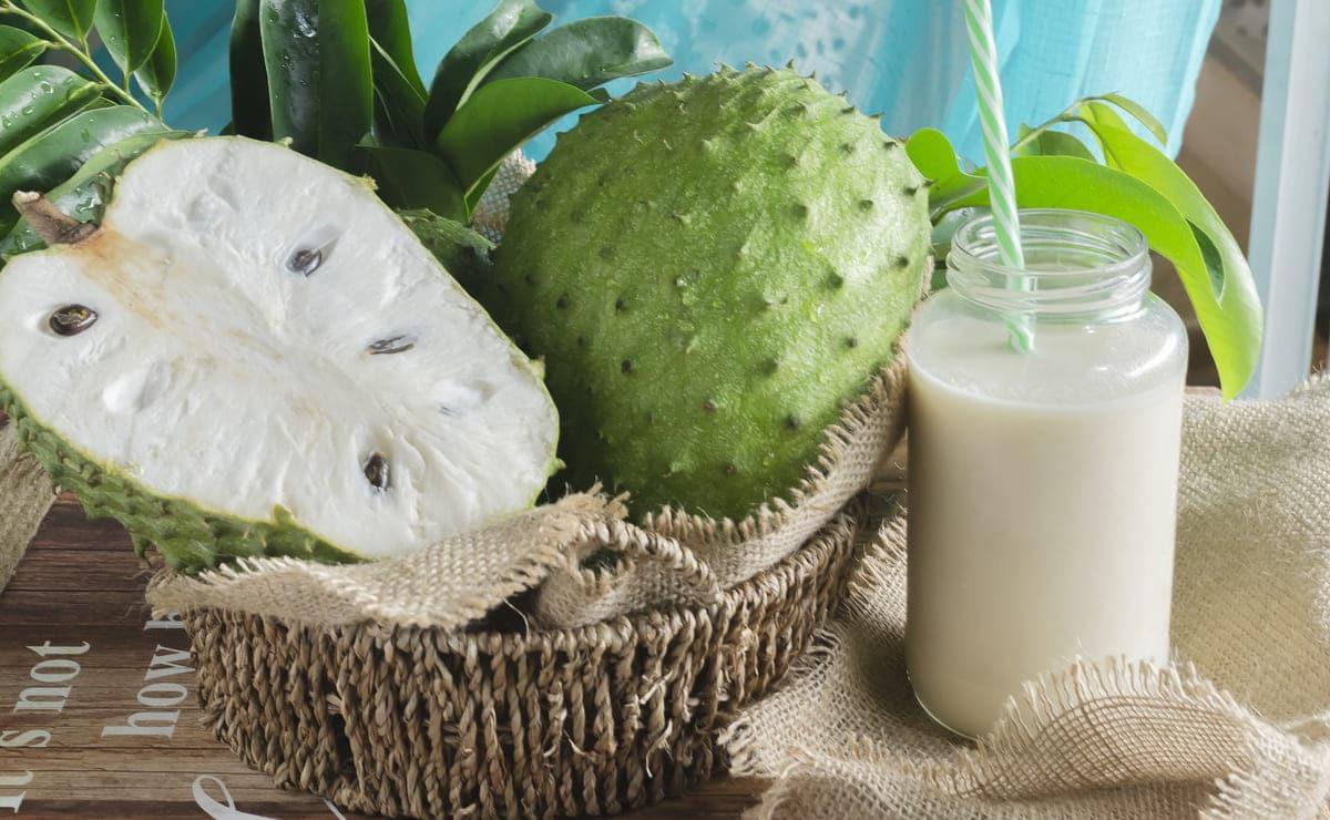 Sorbete sin lácteos Guanábana