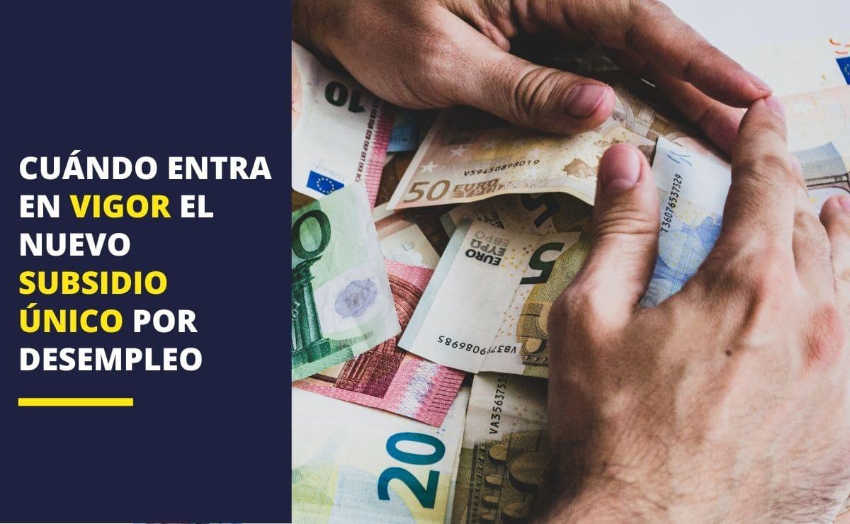 Subsidio único por desempleo en España