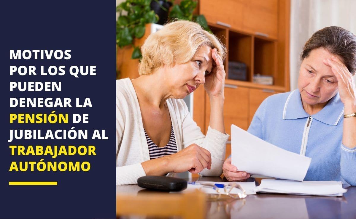 Trabajador autónomo pensión jubilación