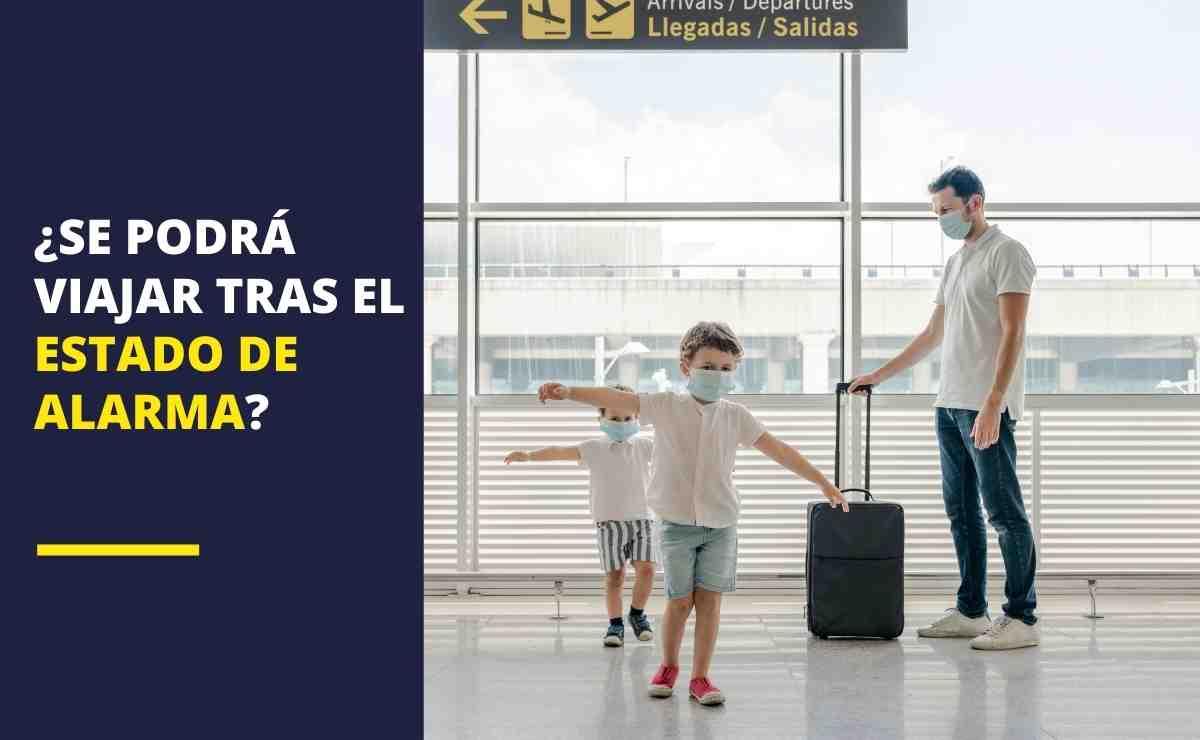 Viajes vuelos turismo Estado de alarma