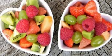 Fruta y verduras estrés