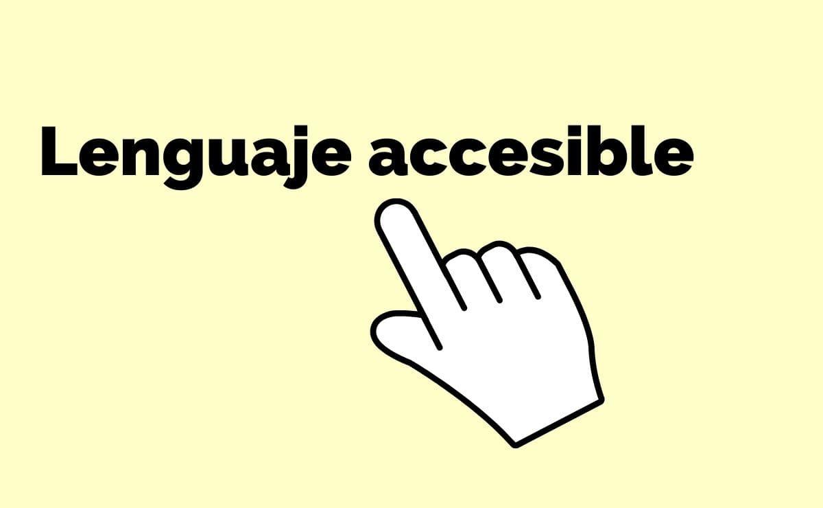 lenguaje accesible