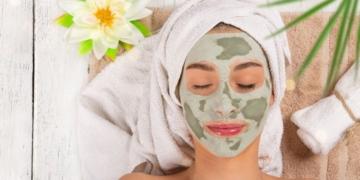 mascarilla te verde piel
