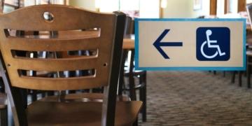 mesa restaurante accesibilidad