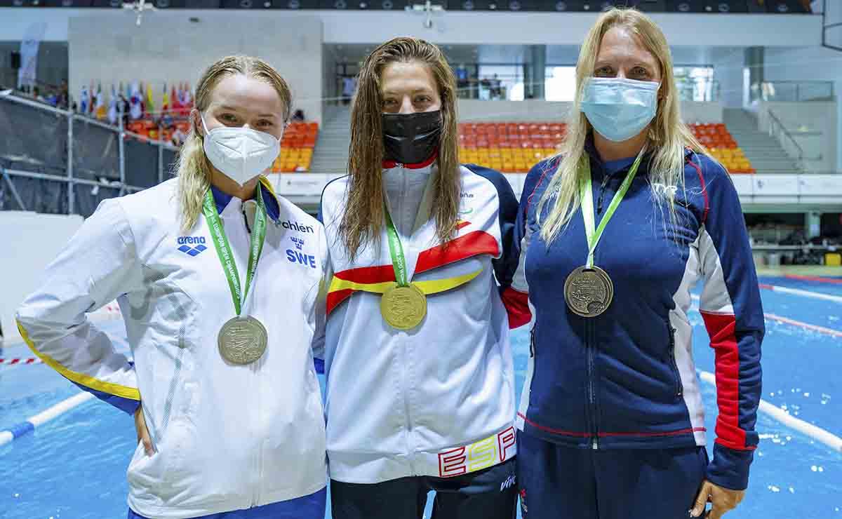 Selección española en el Europeo de Natación | Juegos paralímpicos