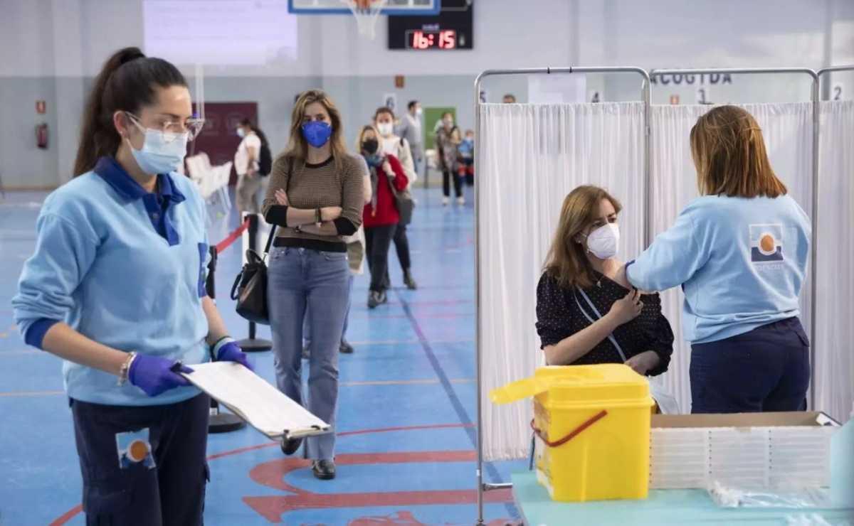 Vacunación contra el Covid-19 en España | Foto: María José López - EP