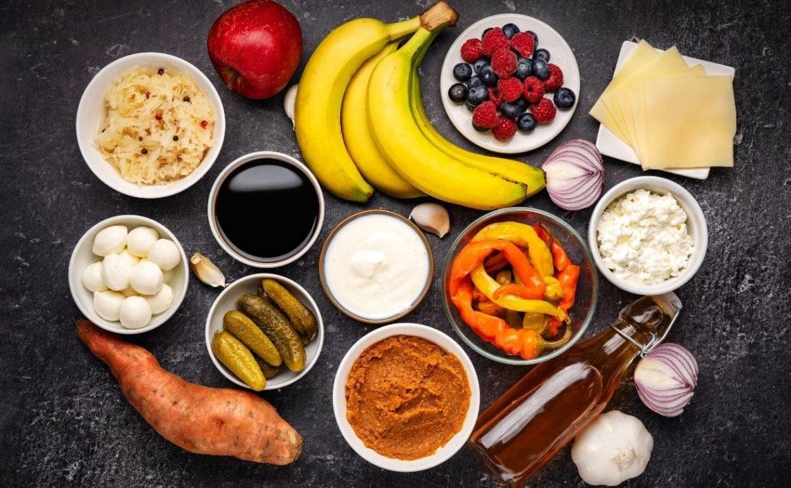 Alimentos prebióticos probióticos