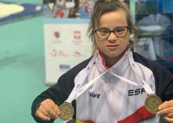 Blanca Betanzos medallas de oro Polonia Campeonato del Mundo
