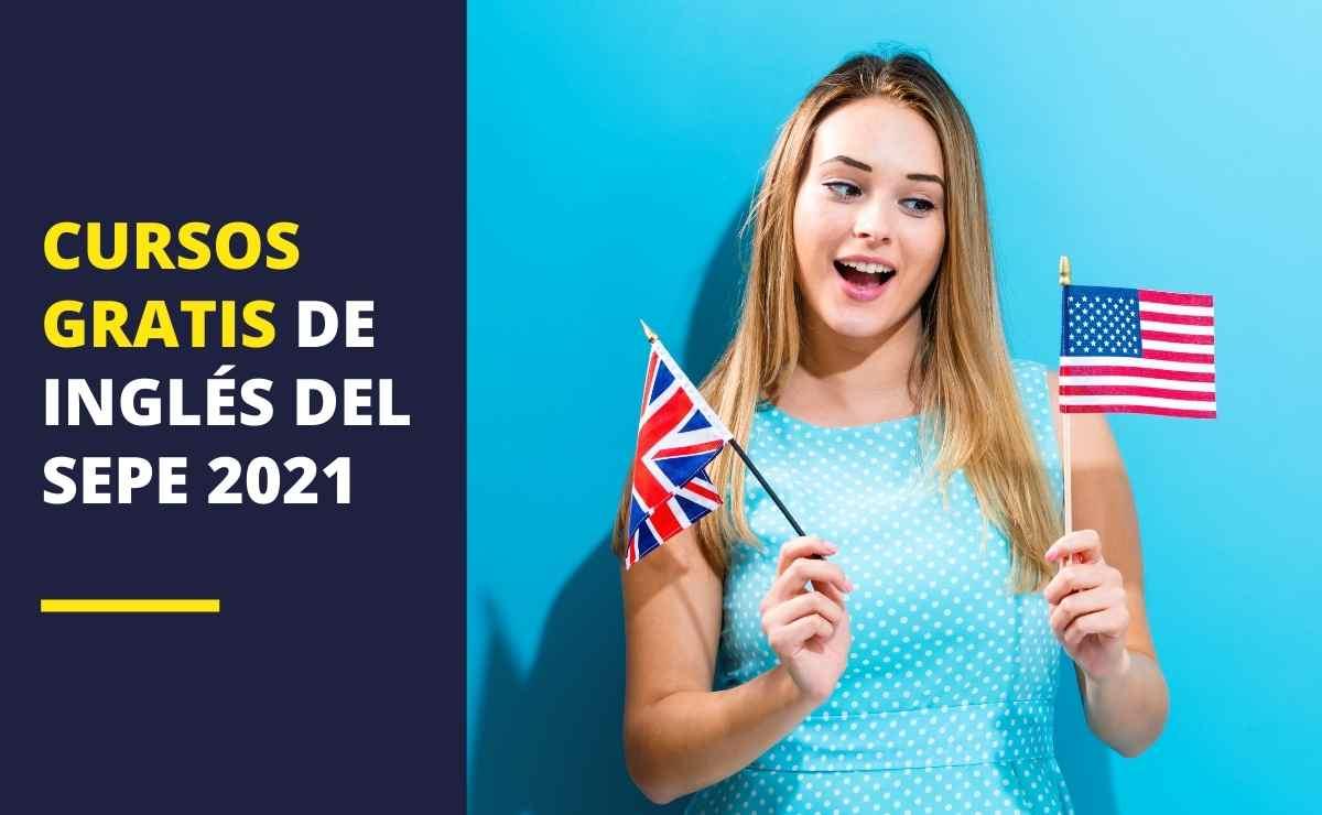 Cursos gratis de inglés del SEPE 2021