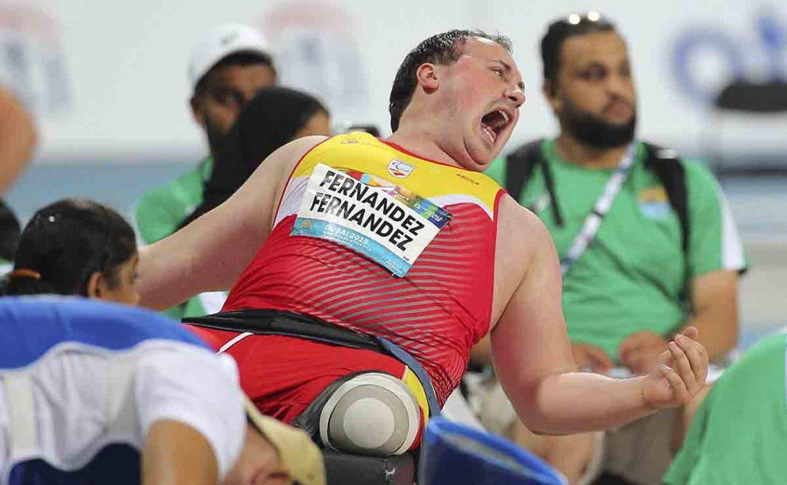 Juegos Paralímpicos | David Fernández durante el mundial de Dubái 2019