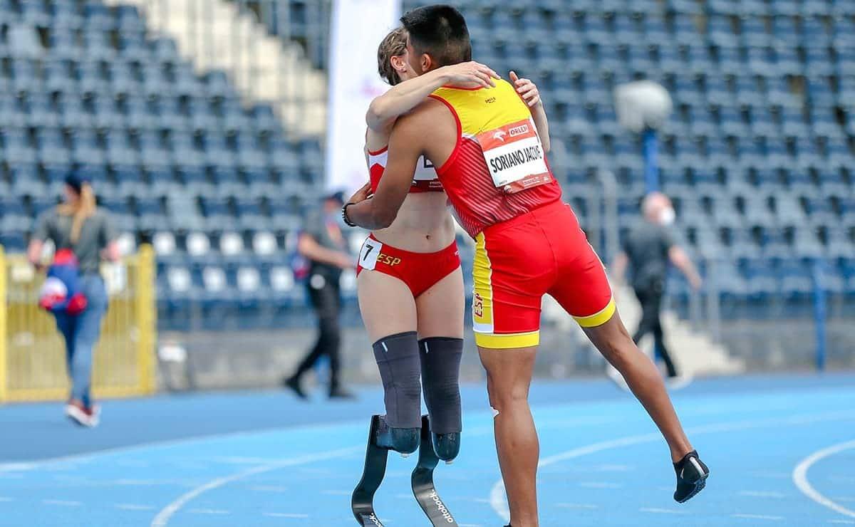 España atletas paralimpicos campeonato de europa