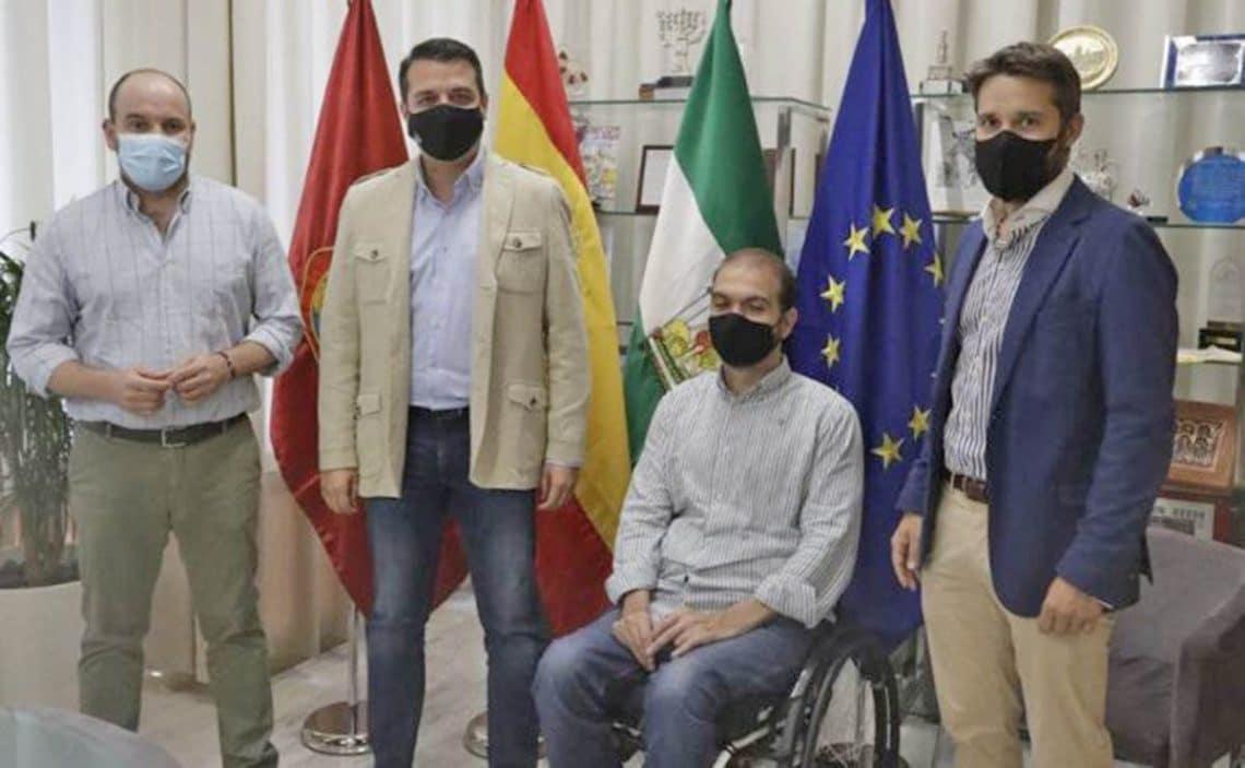 Fran Zuasti autónomos discapacidad Ayuntamiento de Córdonba