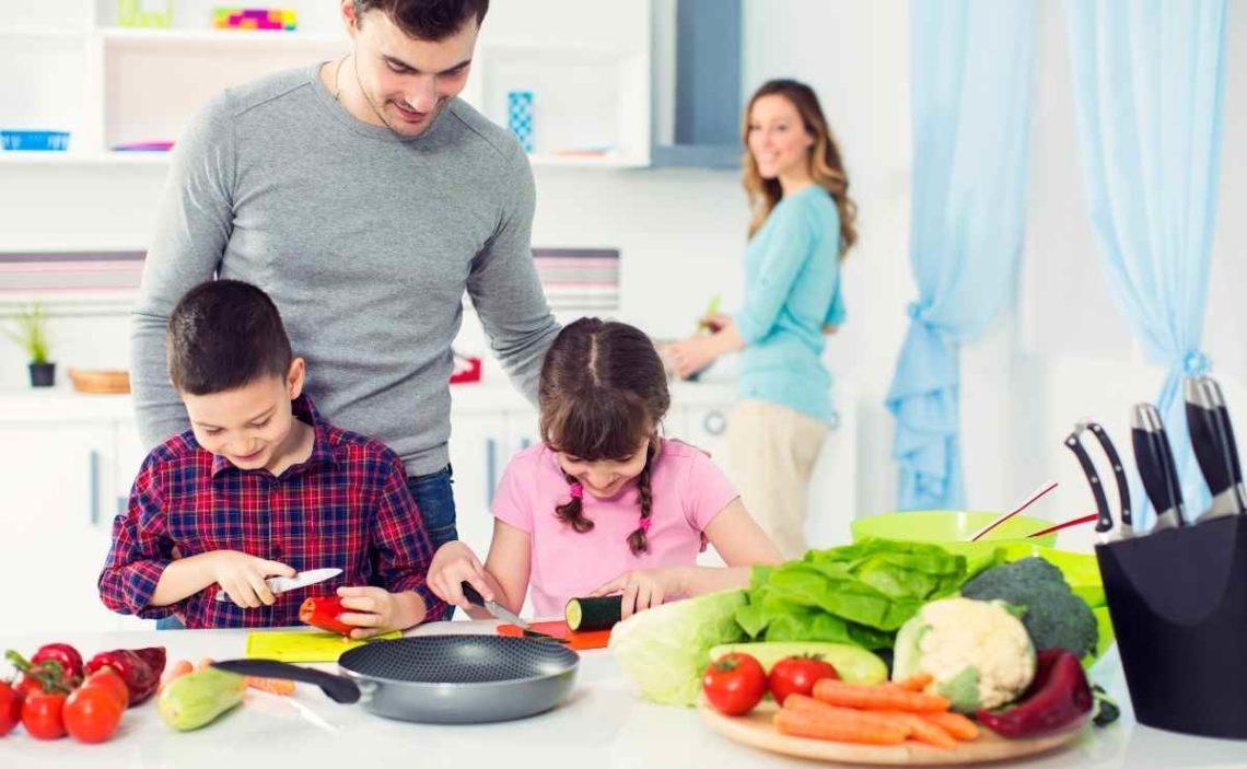 Hábitos saludables para comer en familia
