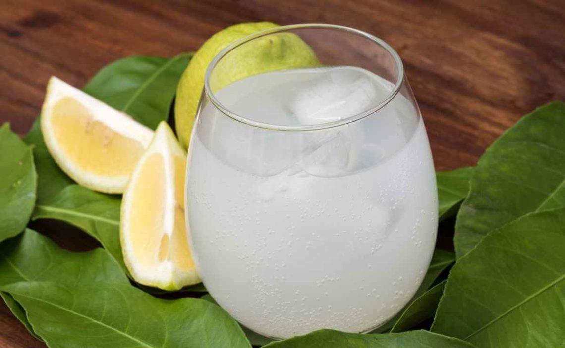 Jugo de limón para adelgazar