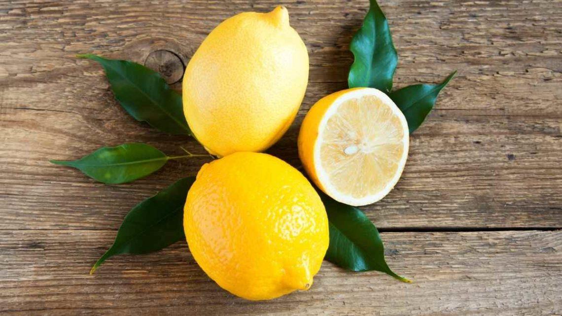 Limón saludable