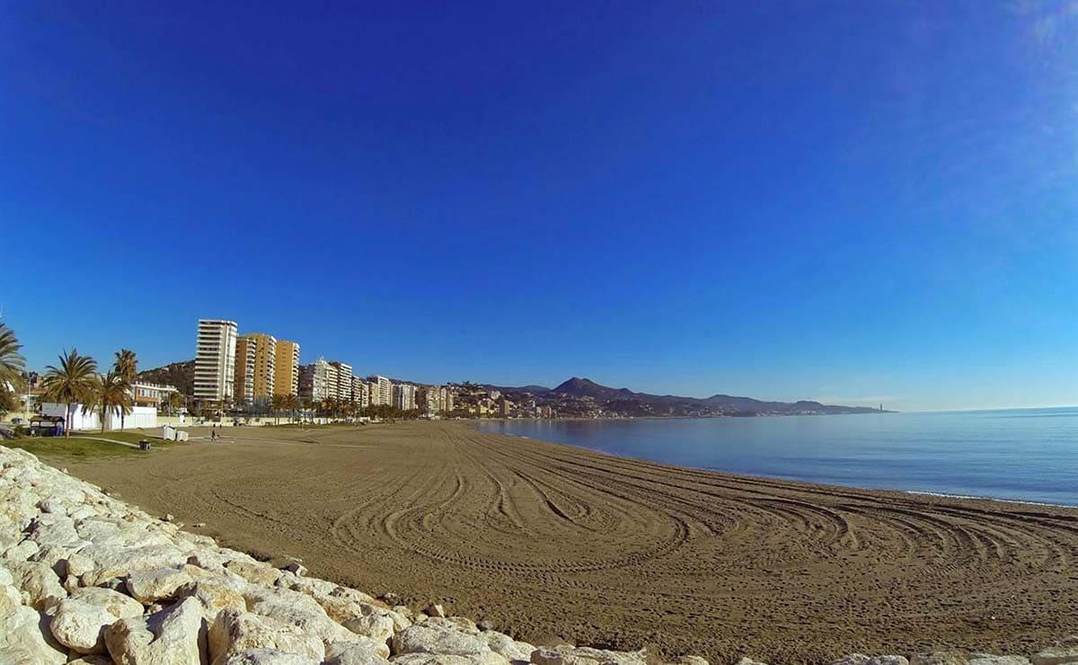Playa La Misericordia Malaga