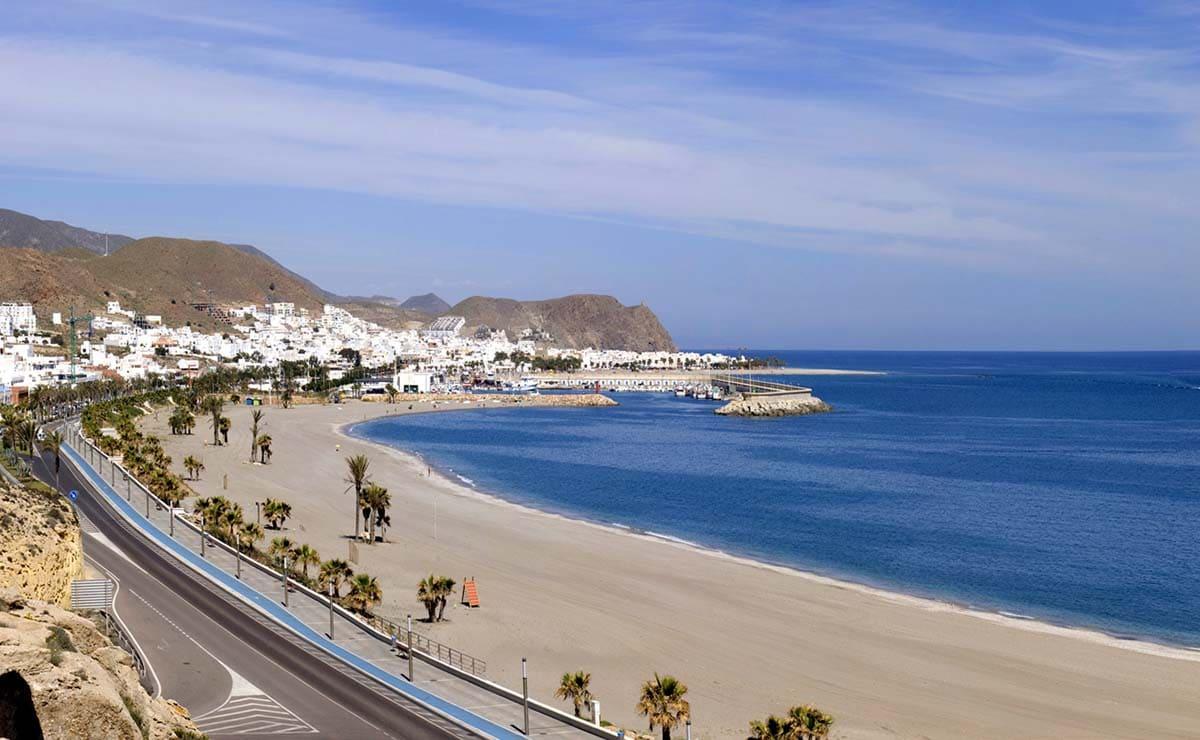 Playa Las Marinicas almeria