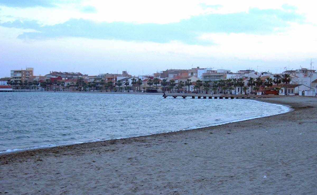 Playa Manzanares Los Alcázares playa accesible Murcia