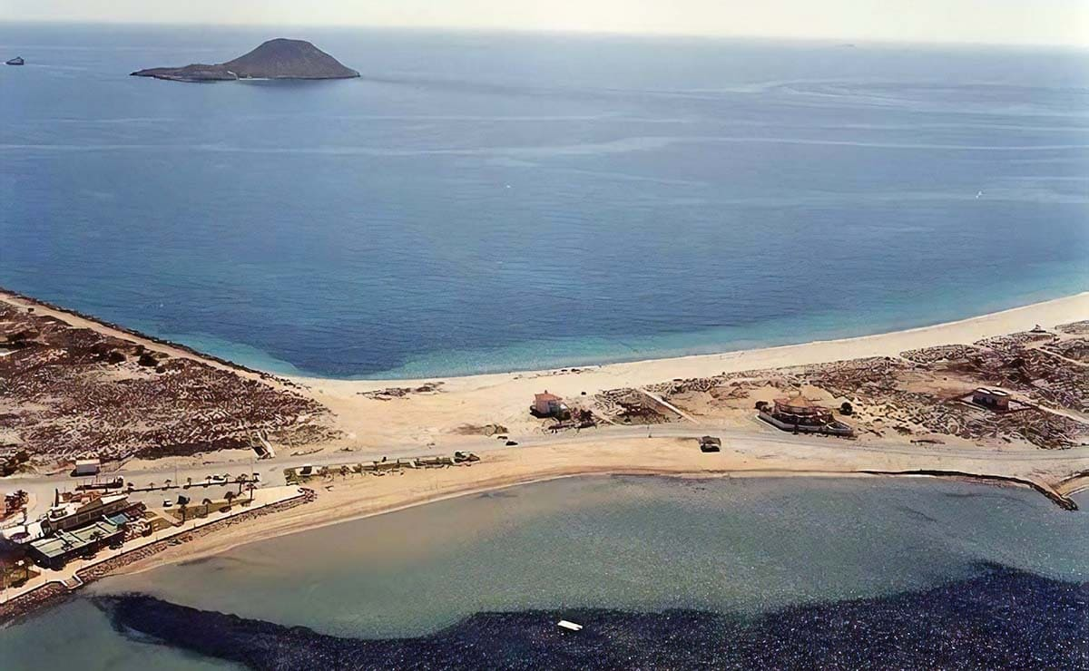 Playa Mistral La Manga del mar Menor playa accesible Murcia