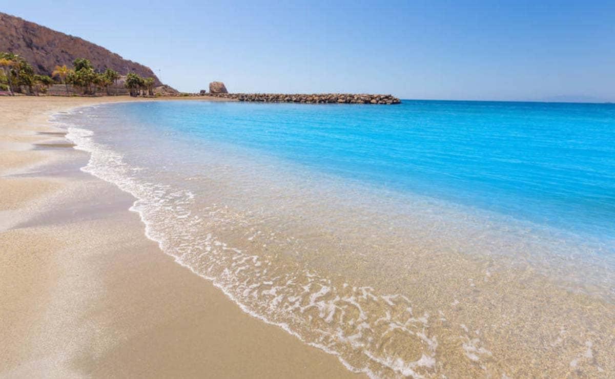 Playa de Calarreona murcia