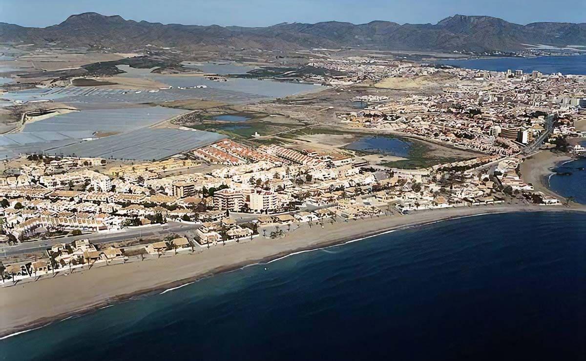 Playa de El Castellar (Mazarrón) Murcia