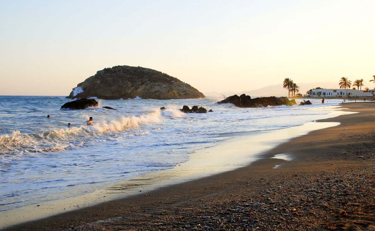 Playa de La Reya Junta de los Mares, Mazarrón Murcia