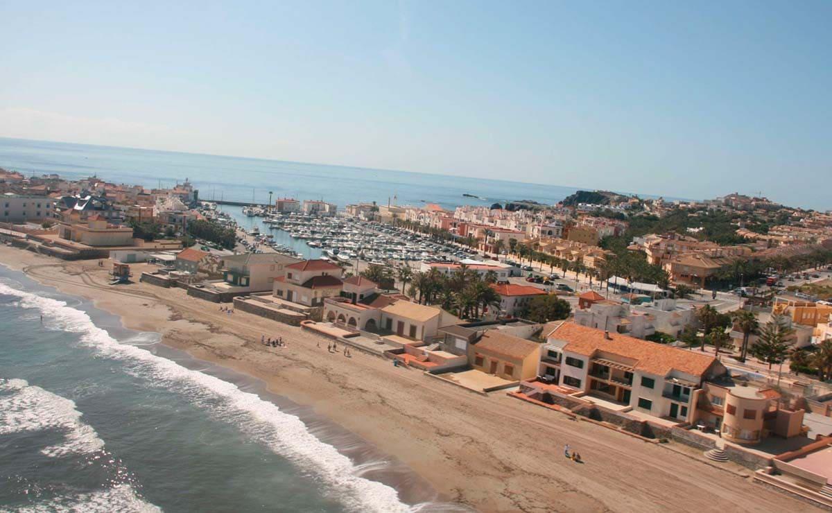 Playa de Levante Cartagena playas accesibles Murcia