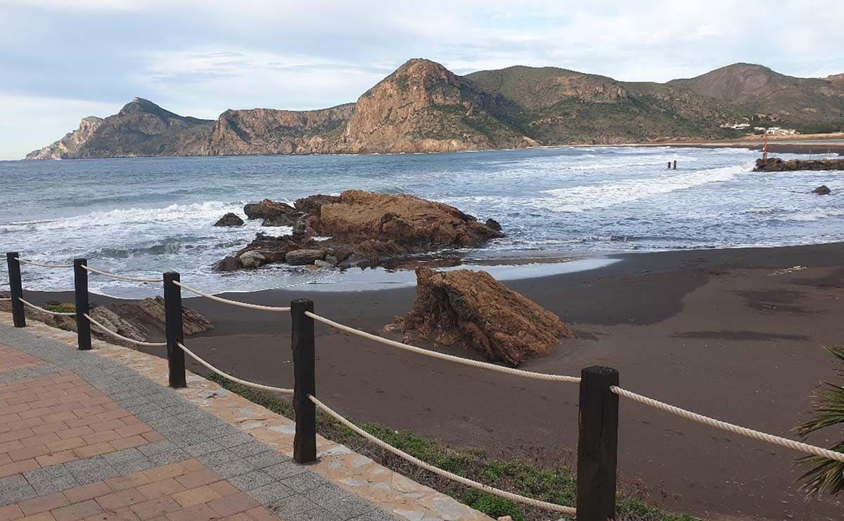 Playa del Lastre La Unión playa accesibles Murcia