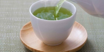 Té verde con antixoidantes