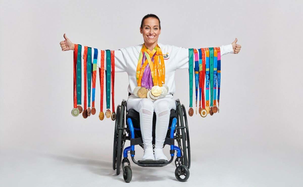 Teresa Perales medallas Juegos Paralimpicos