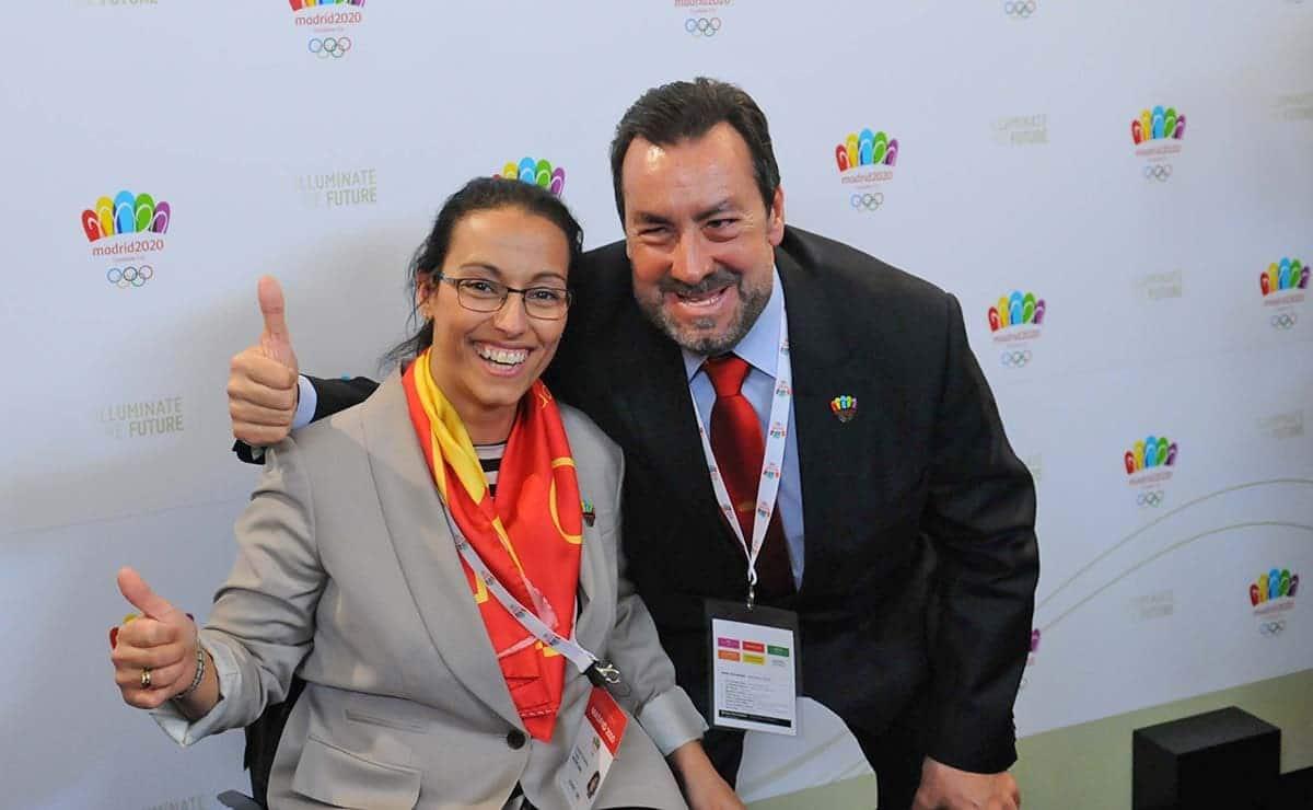 Teresa Perales y Miguel Carballeda