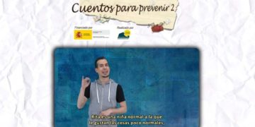 Web Cuentos prevenir consumo drogas lengua de signos
