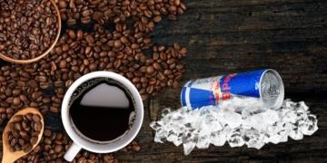 cafe bebida energetica red bull