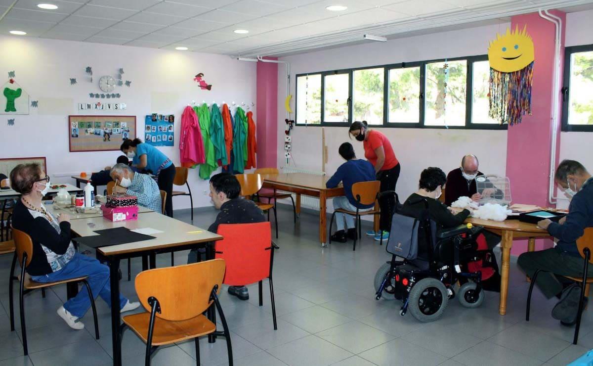 centro de personas con discapacidad Covid-19