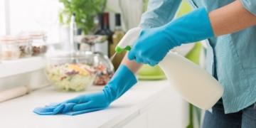cocina limpieza acero inoxidable